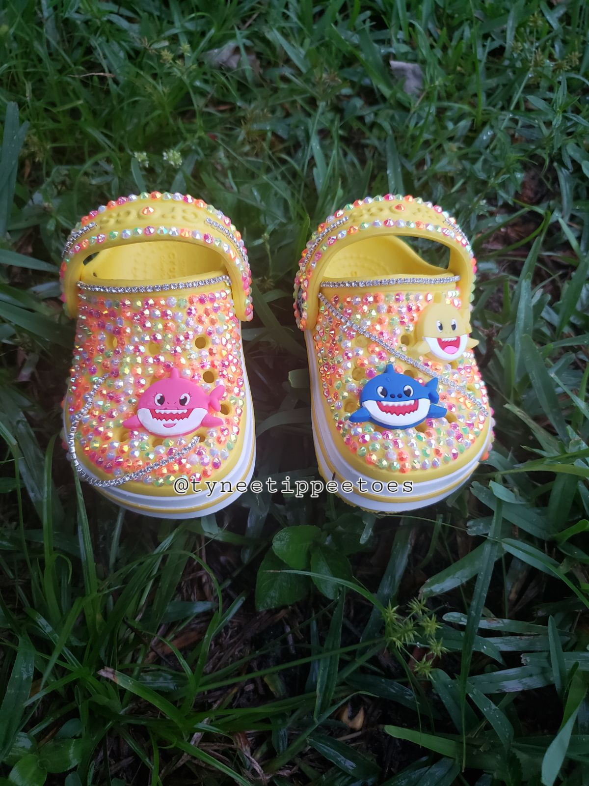 Baby Shark Custom Crocs