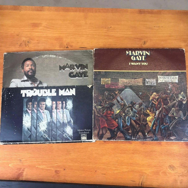 Marvin Gaye Vinyl Records