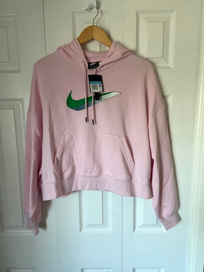 Nike Sportwear Oversized Crop Top Hoodie