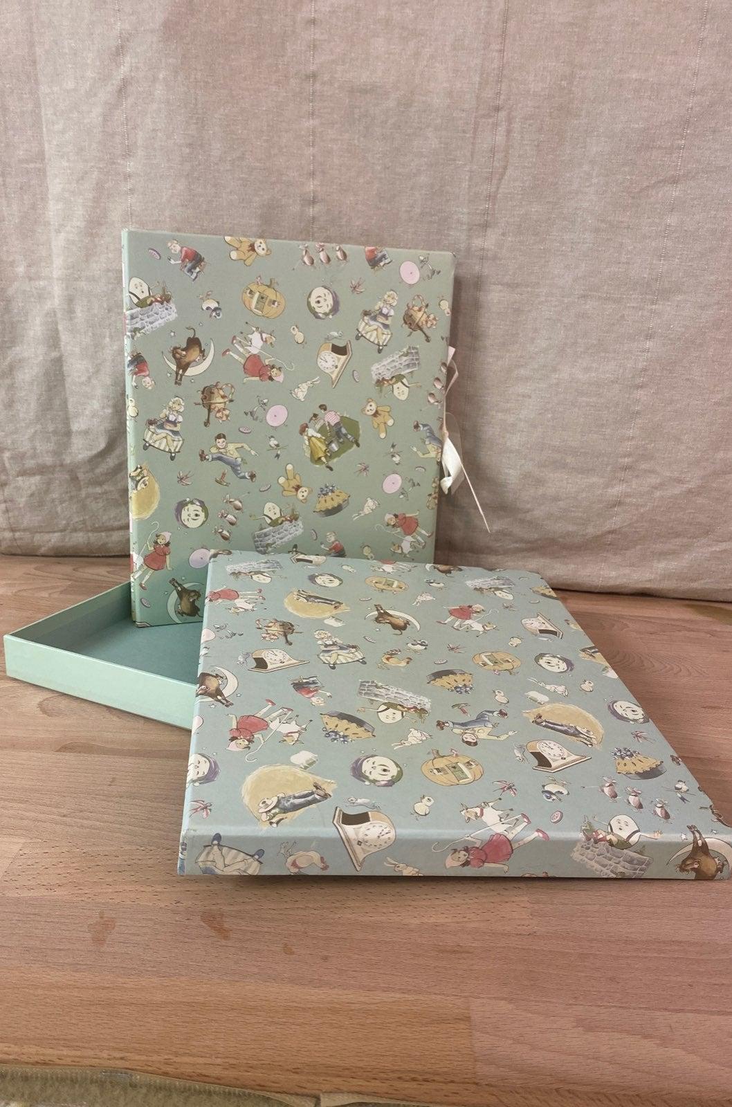 Baby scrap book in box
