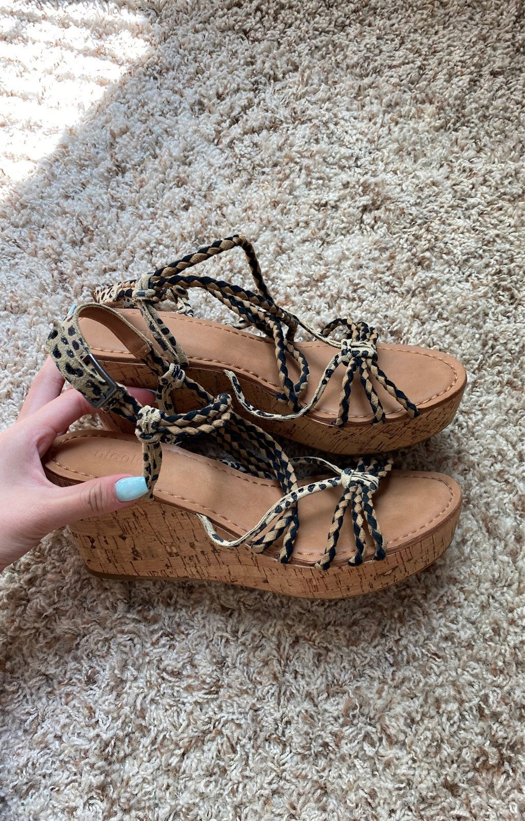 Wedge Sandals 8.5