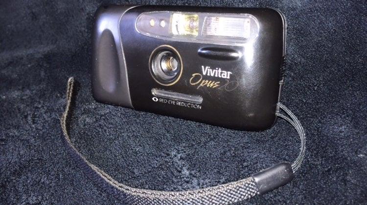 Vivitar Opus20 110mm film camera