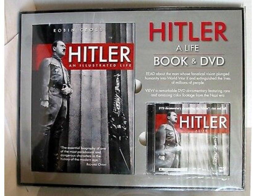 Hitler a life Book&dvd set