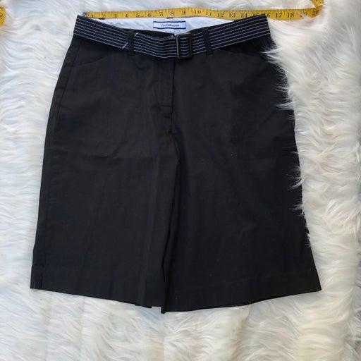 Shorts Croft & Barrow SZ 14 Solid Black