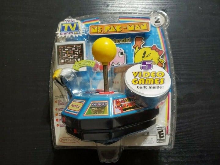 Jakks Pacific Mrs Pacman Plug and Play