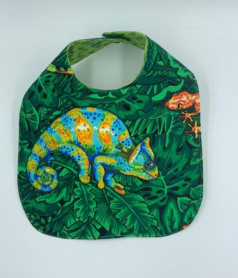 Green chameleon /Lizards Baby / Toddler