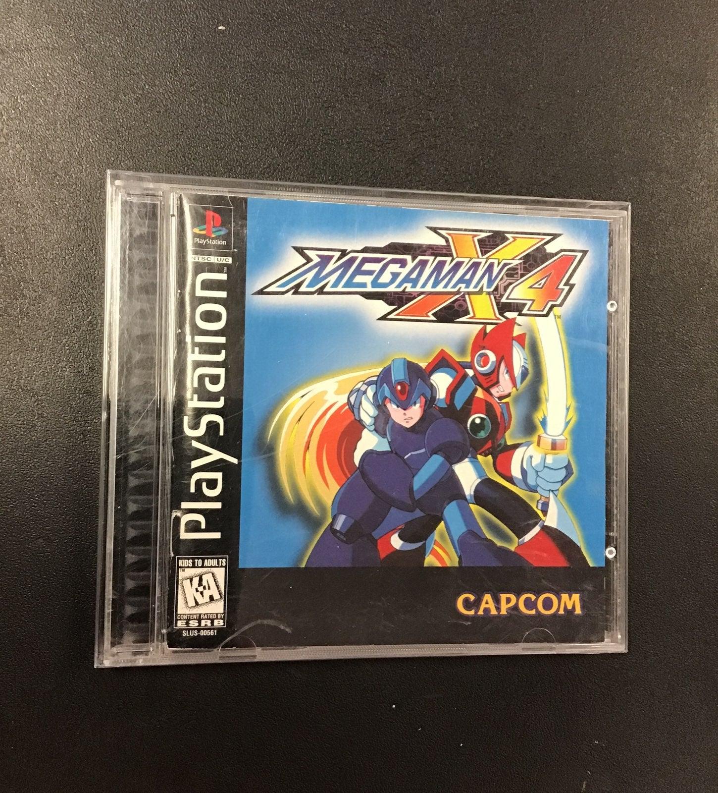 Mega Man X4 PS1 CIB