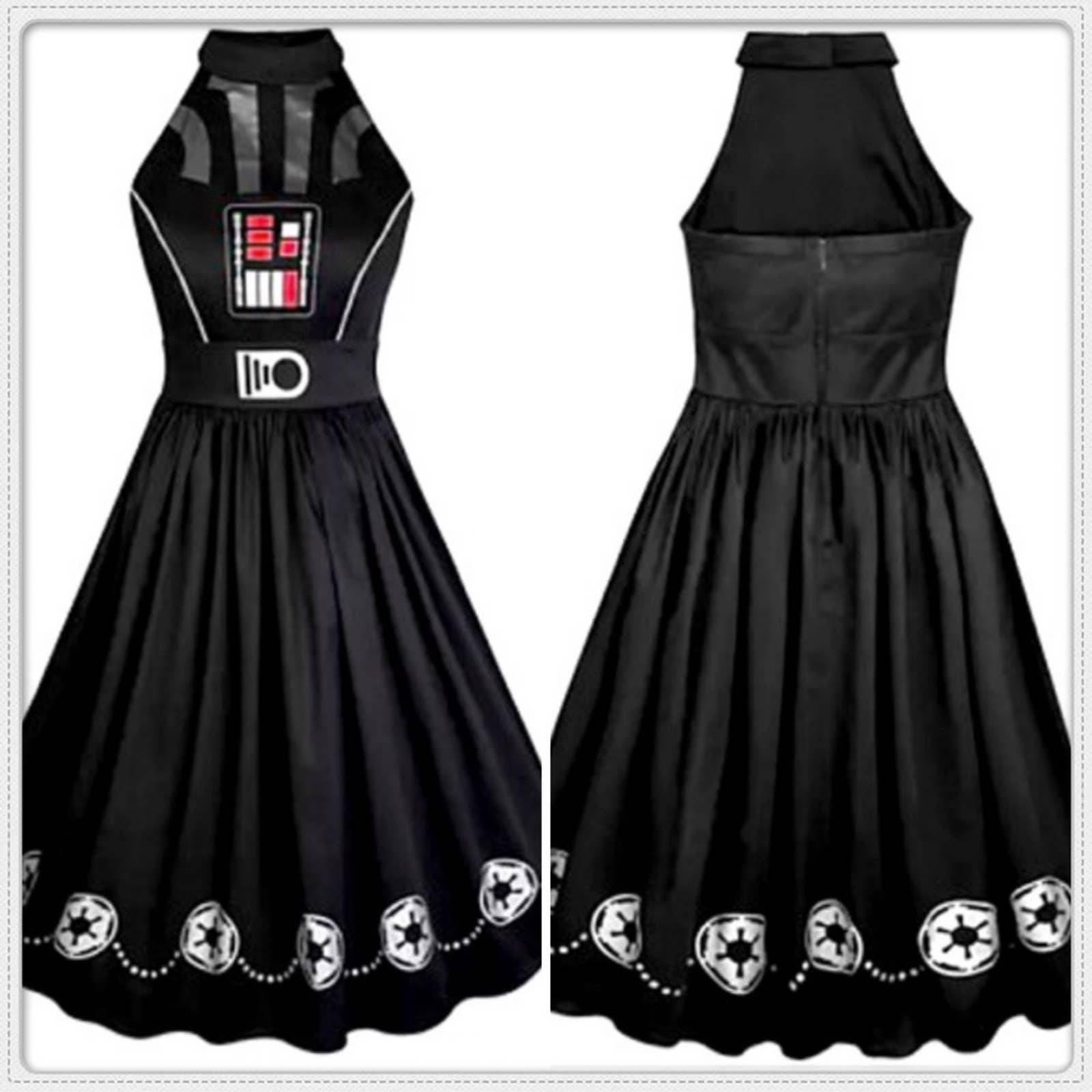 Disney Star Wars Darth Vader midi Dress