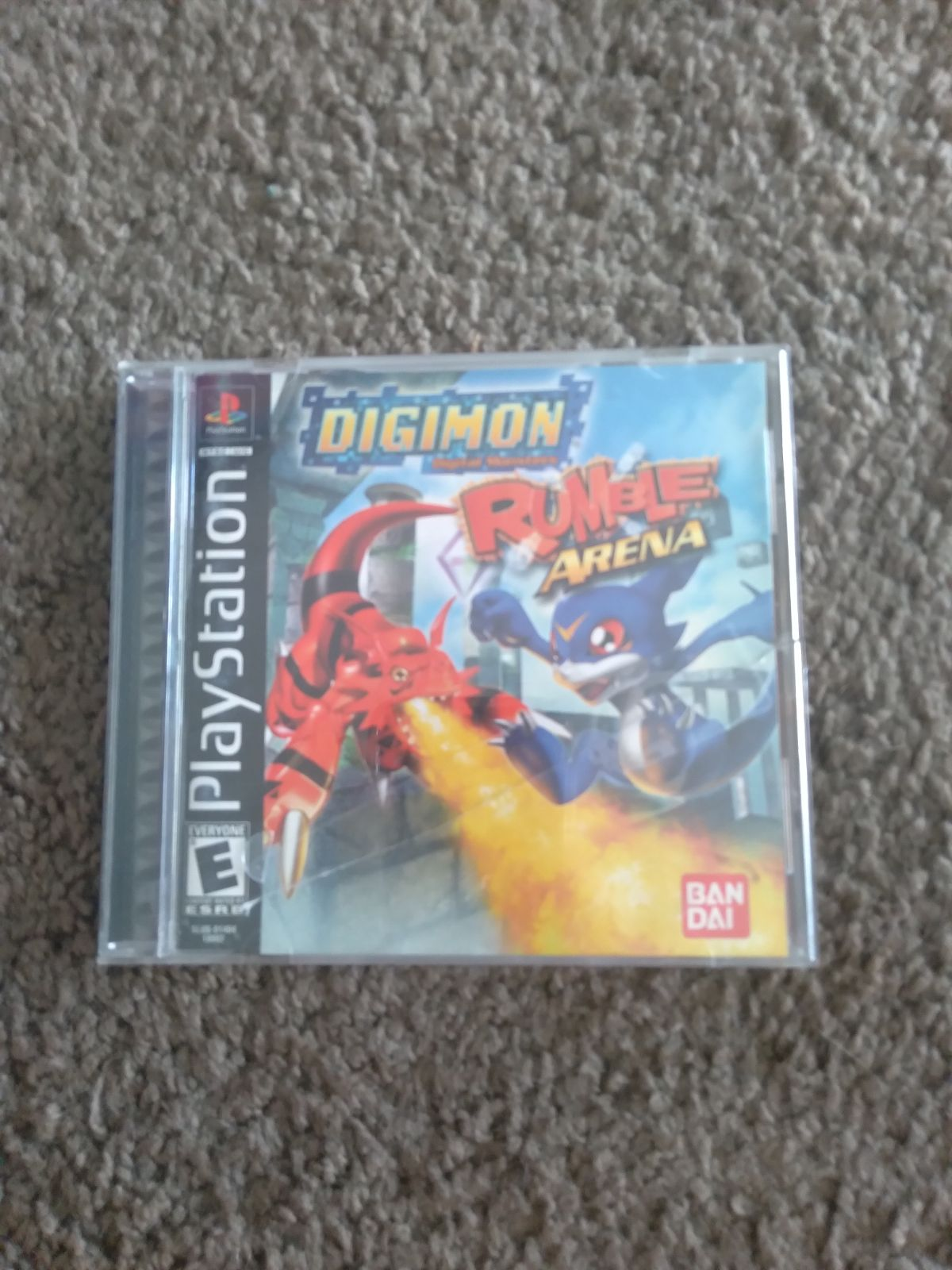 Digimon Rumble Arena on Playstation 1