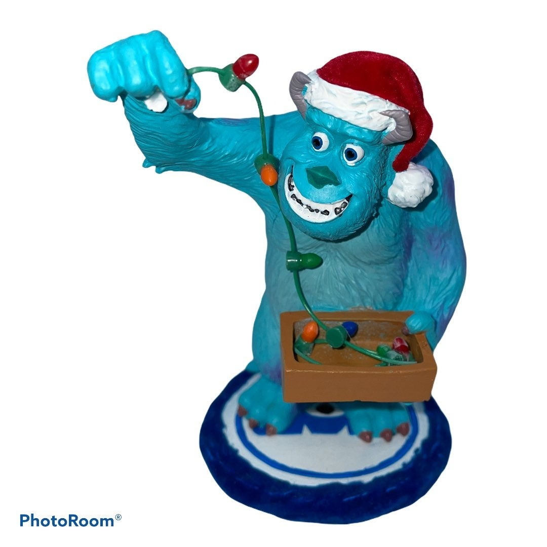Disney Monsters Inc Santa Sully Ornament