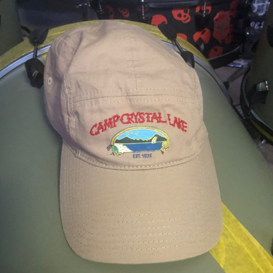camp crystal lake adjustable cap