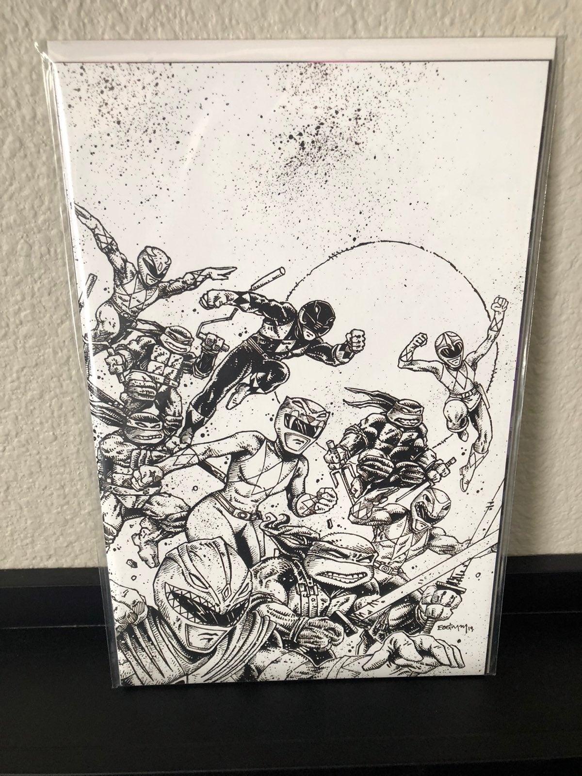 Power Rangers TMNT #1 Comic Book