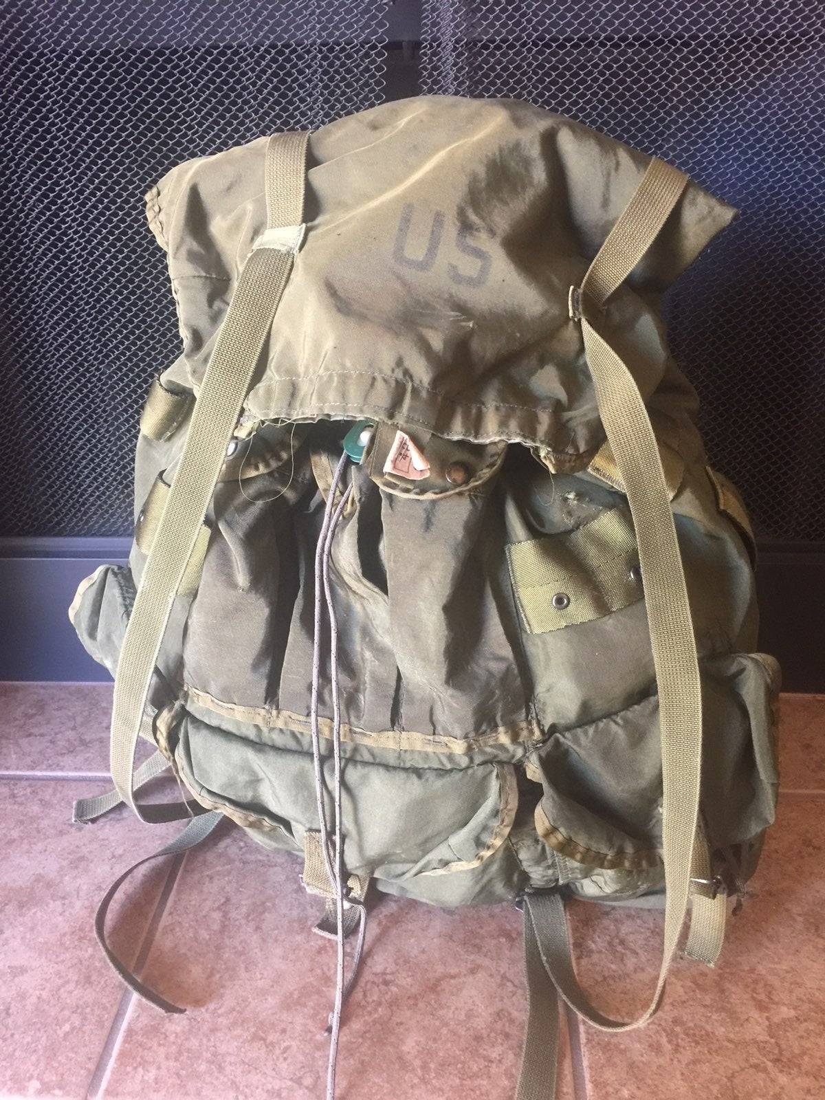 US ARMY COMBAT FIELD PACK LARGE LC-1