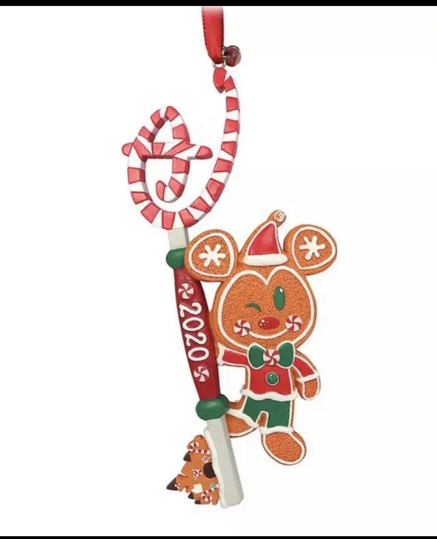 Disney Gingerbread Mickey Key