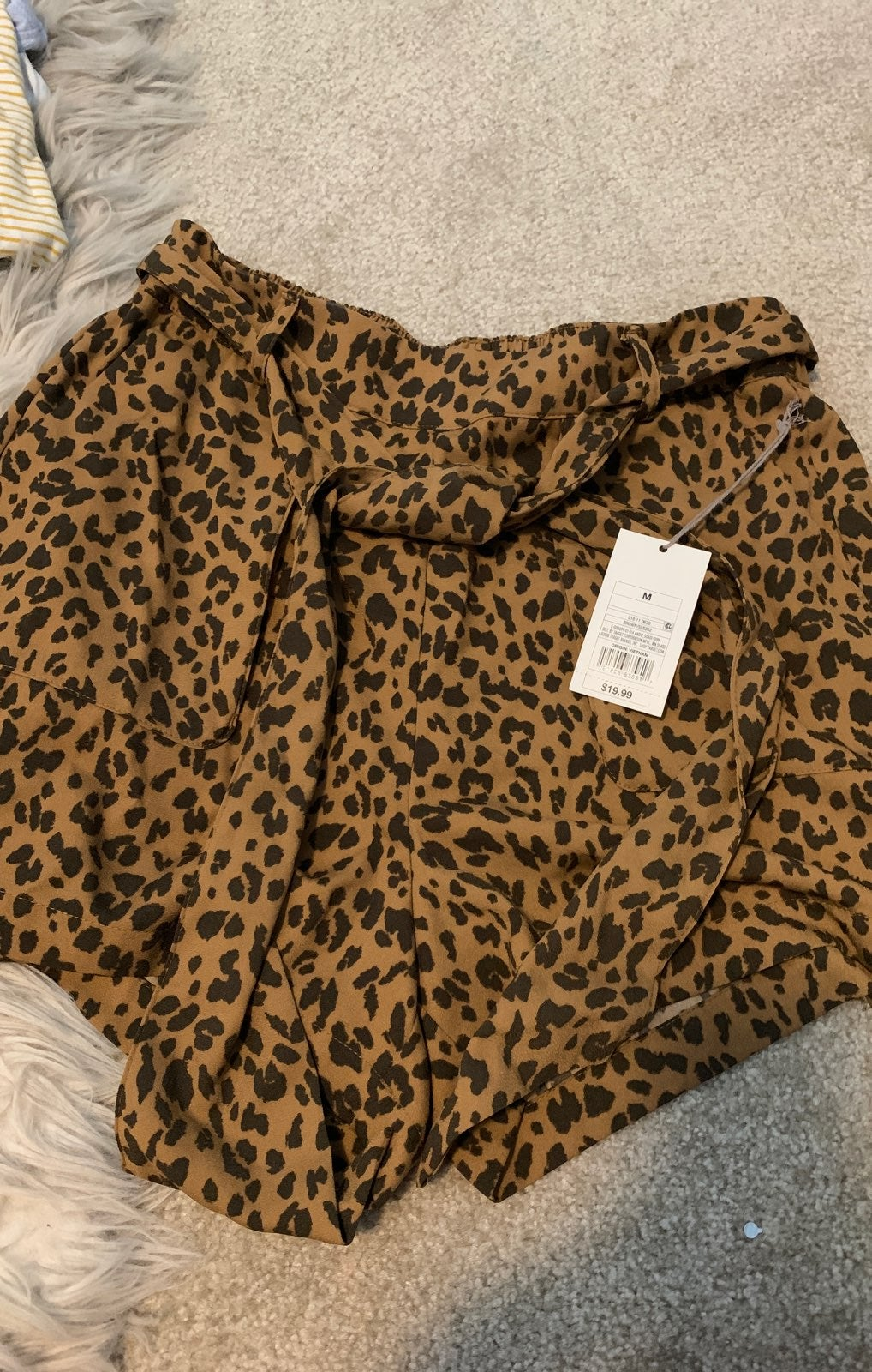 A New Day Leopard Shorts