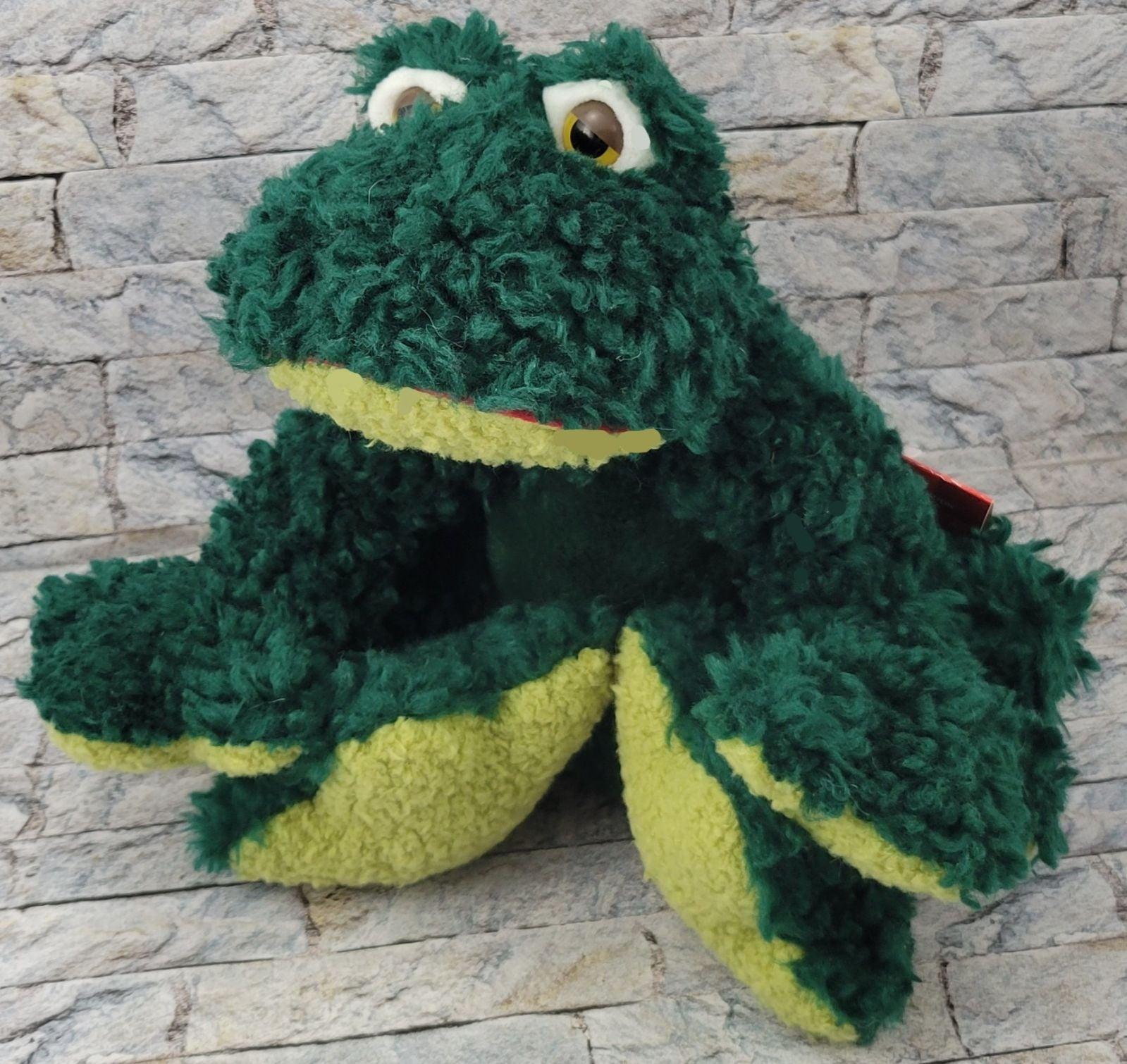 RUSS Frumps Green Frog NEW Stuffed PLUSH
