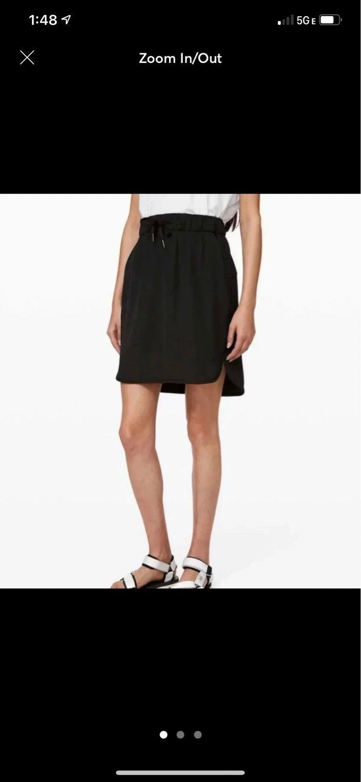 Lululemon On The Fly Skirt NEW 6