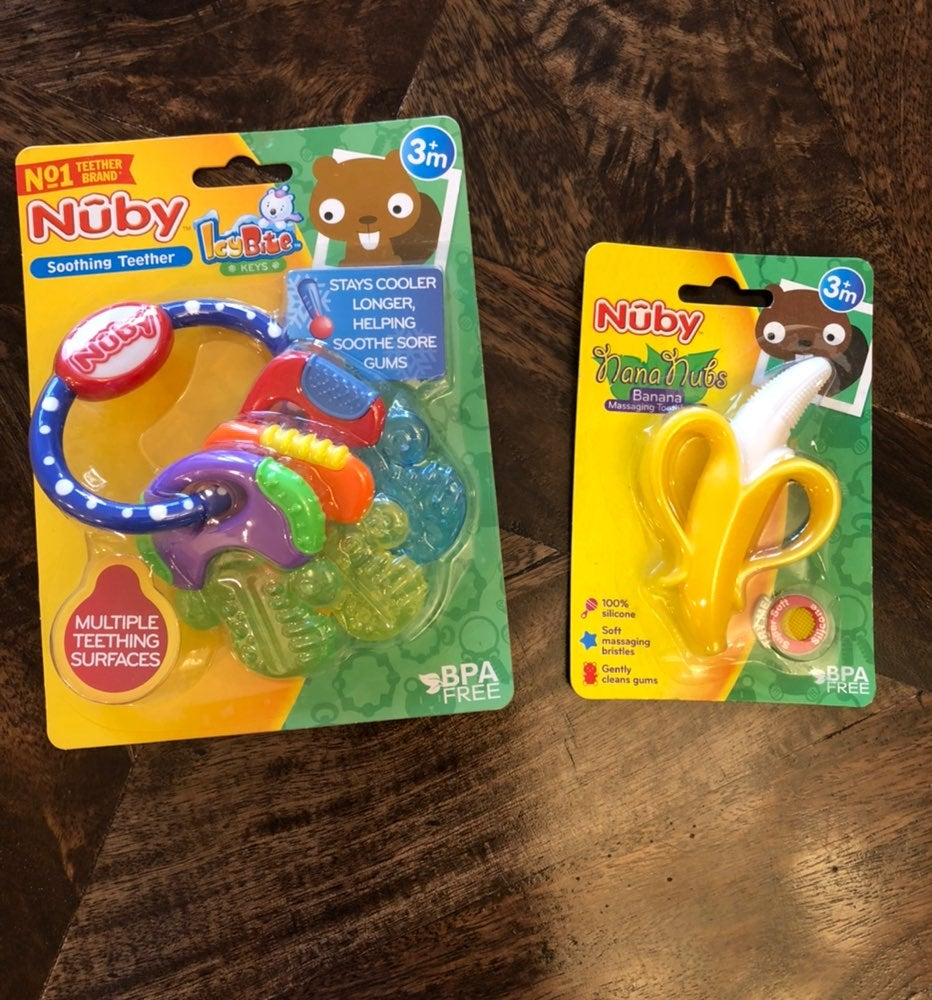 Nuby Teethers for Baby