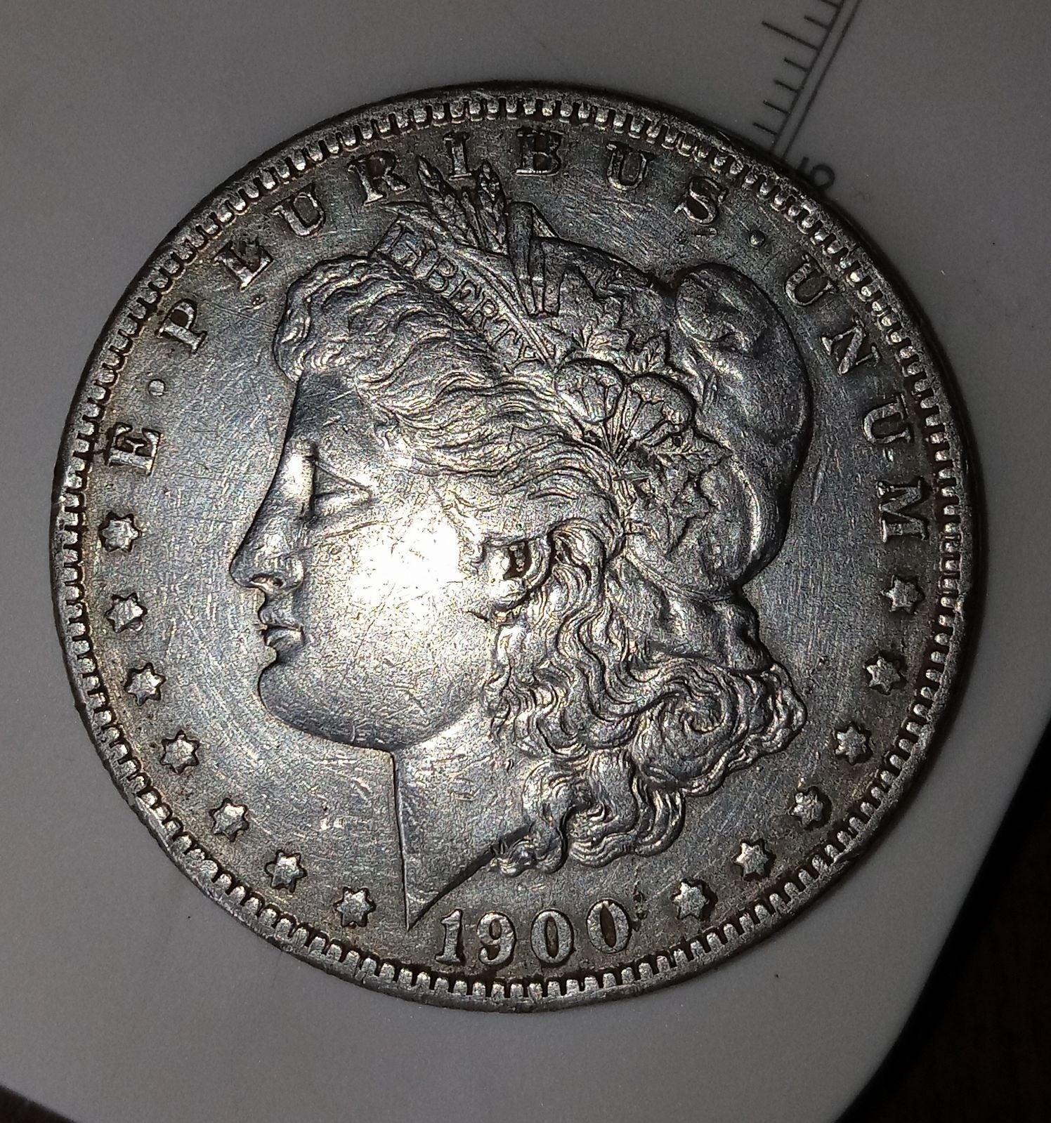 1900-O Morgan Silver Dollar Very Fine