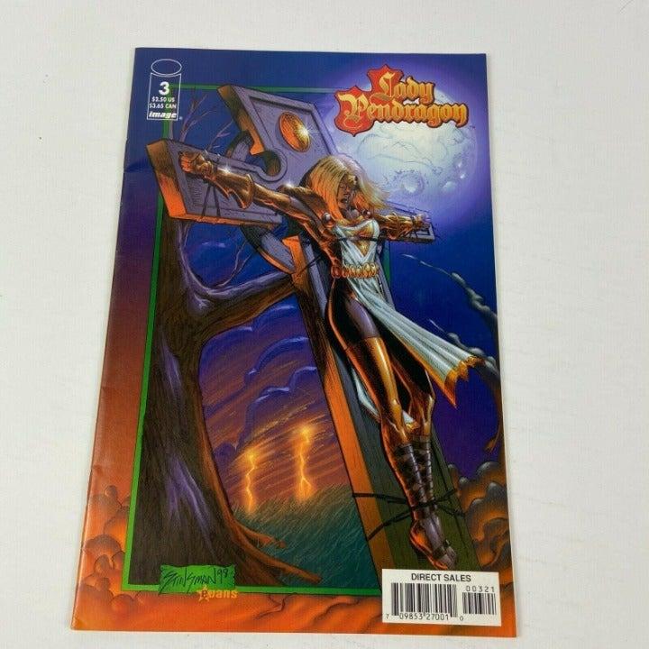 Lady Pendragon Image Comics #3A Jan 1999