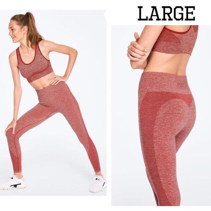 VS Pink Seamless Workout Tights Leggings