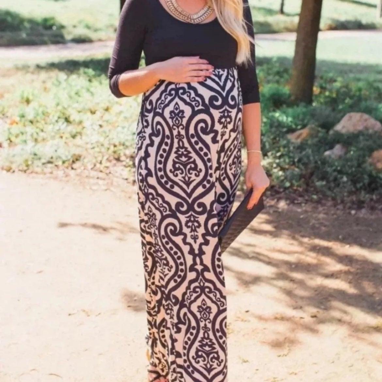 Pinkblush Maternity Maxi Dress - Large