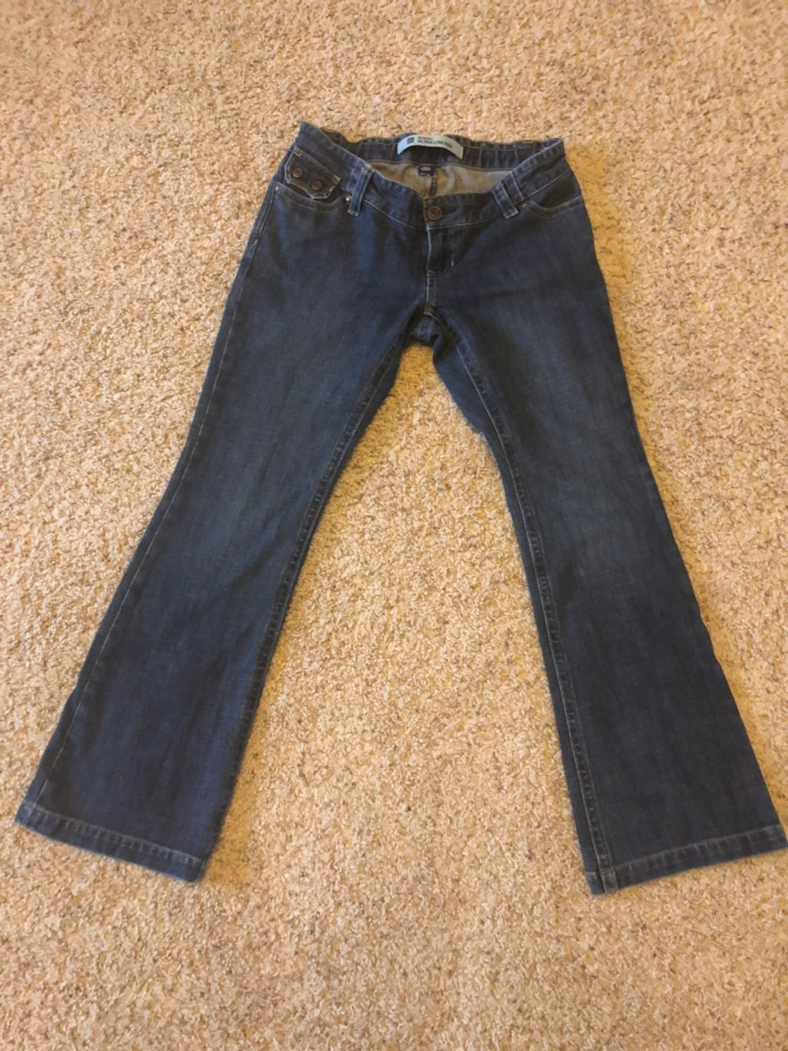 Maternity Jeans Gap ultra low rise sz 2