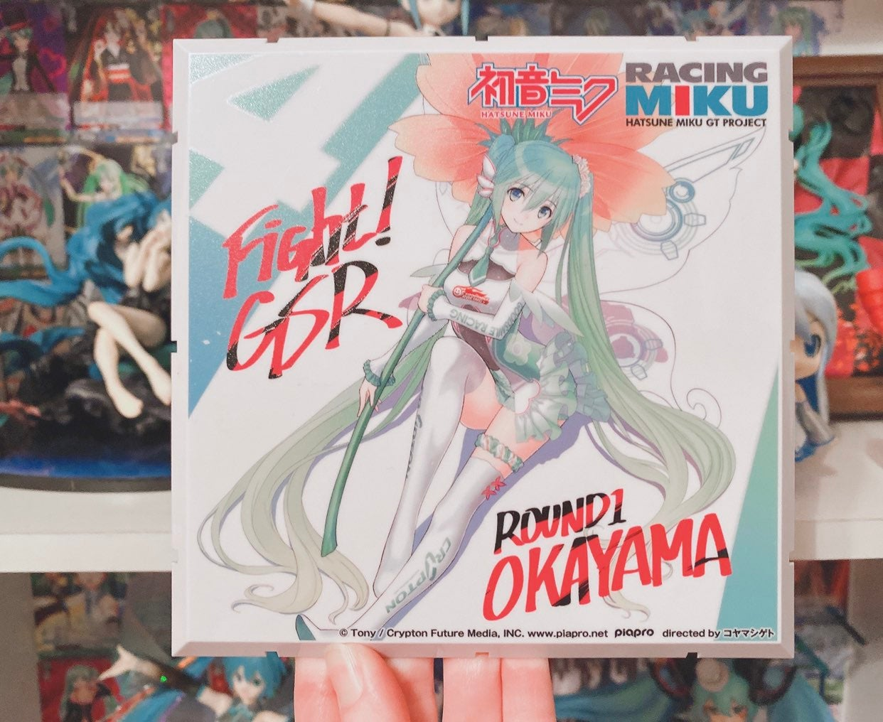 Racing Hatsune Miku Diorama