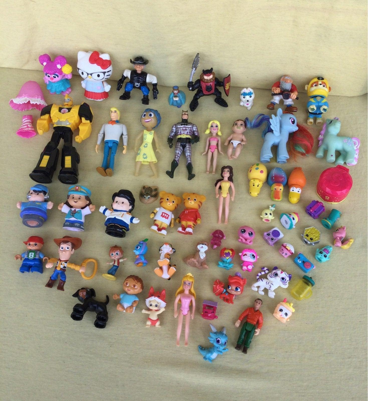 Lot of Miscellaneous Small Toys Batman