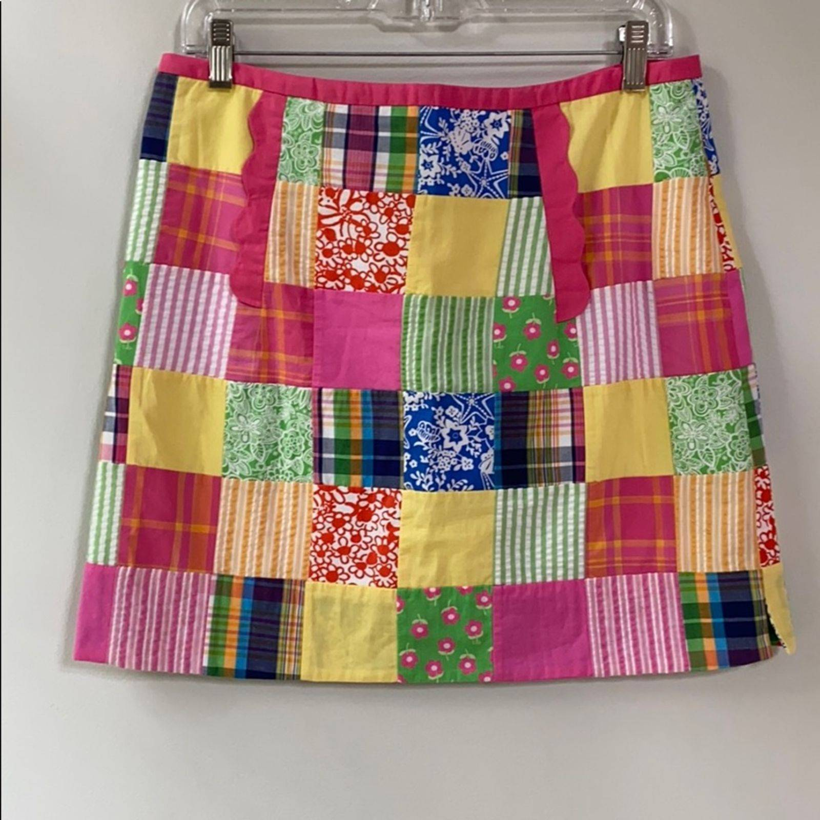 VTG Lilly Pulitzer Patchwork Skirt