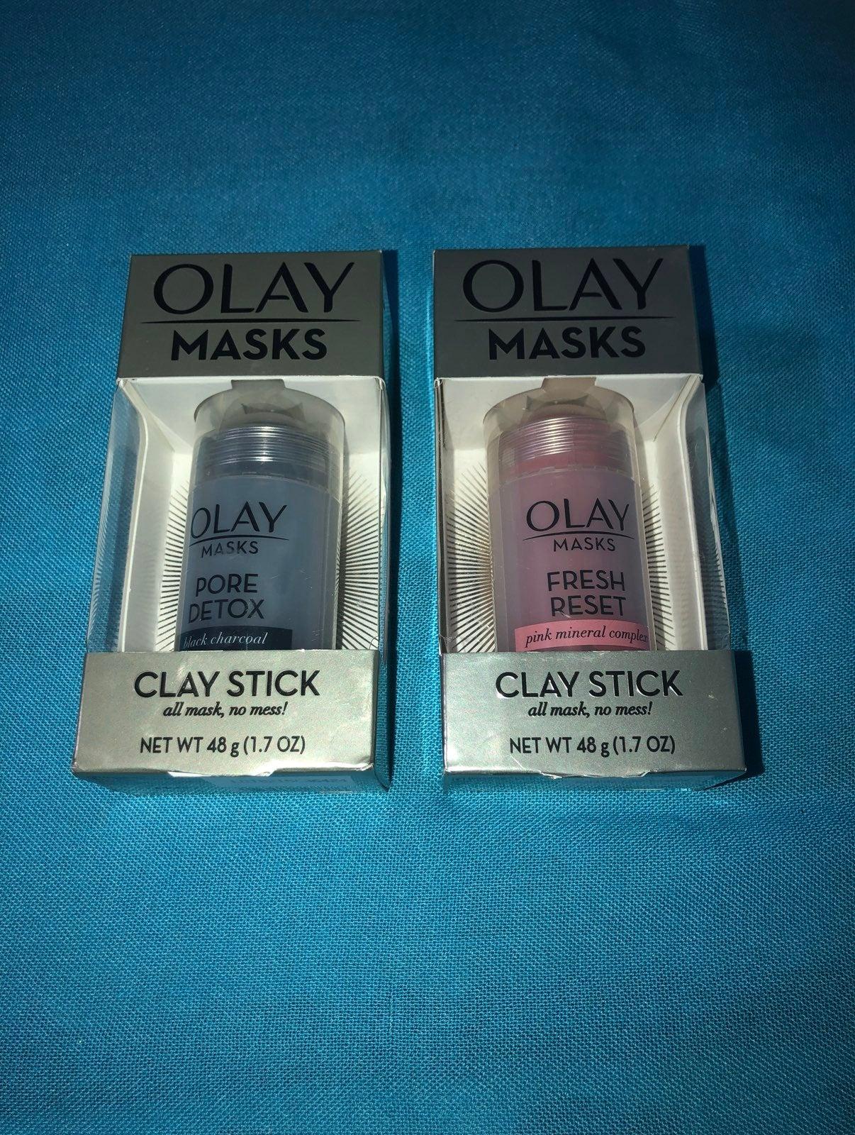 Olay Clay Stick Masks