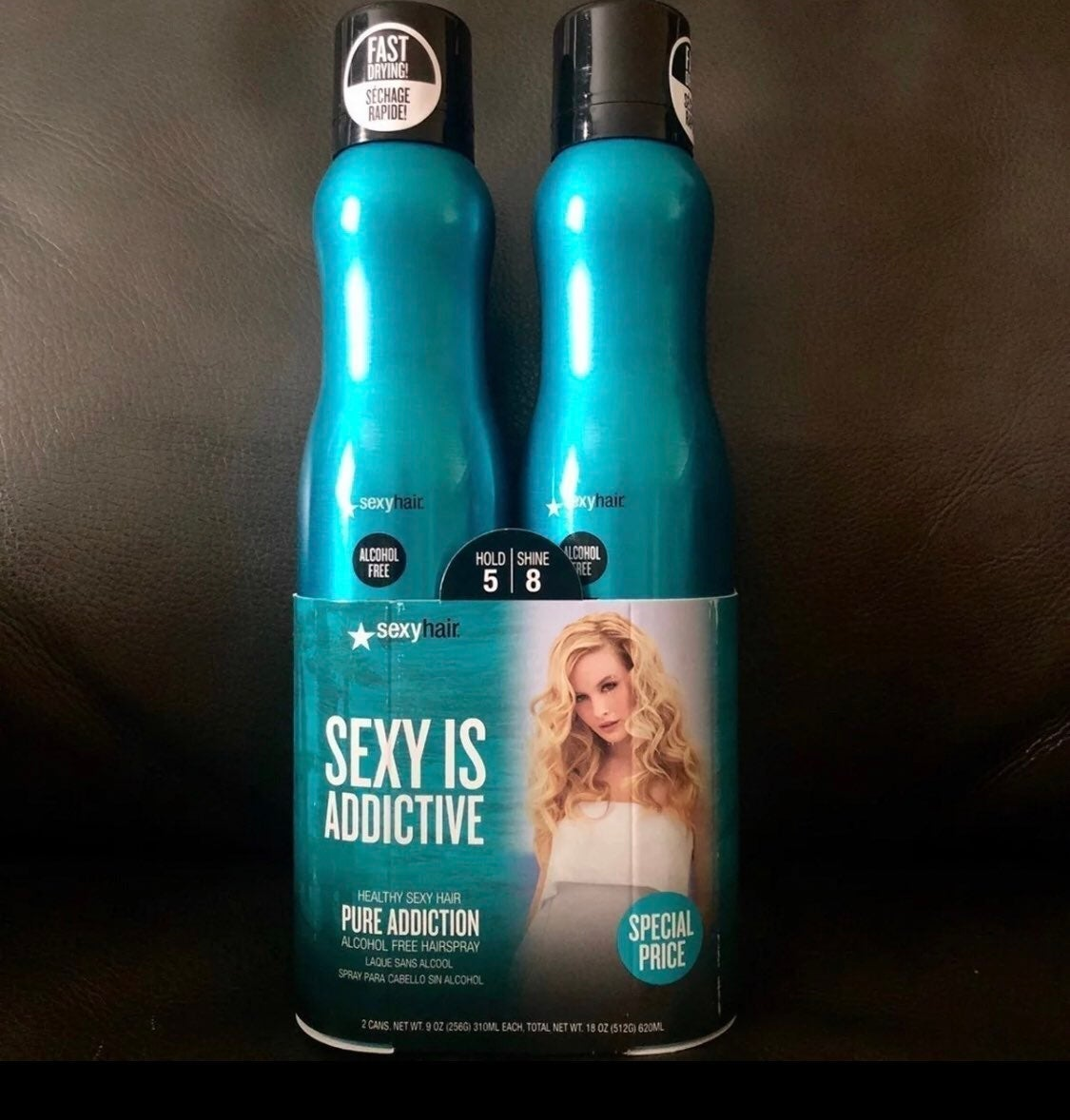 Healthy Sexy Hair Pure Addiction, 2 Pack