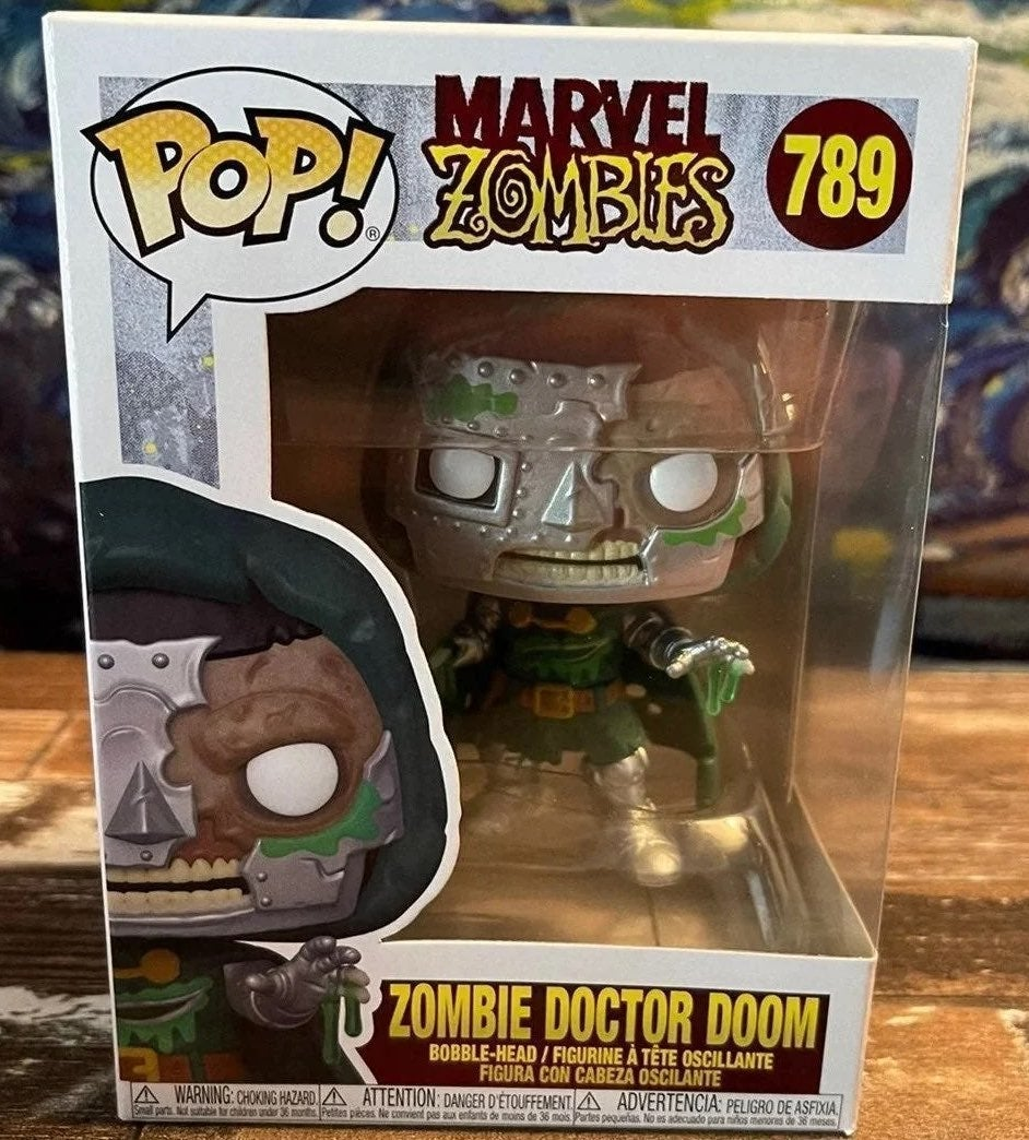 Marvel Zombies Doctor Doom Funko Pop 789