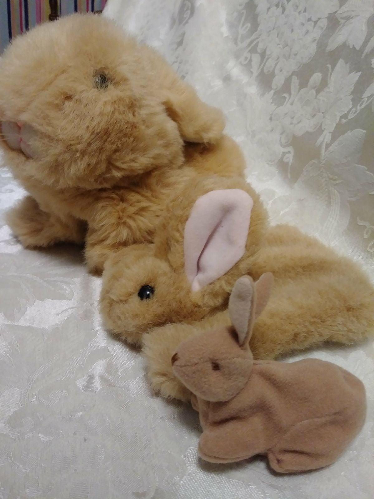 Bunny rabbit puppets