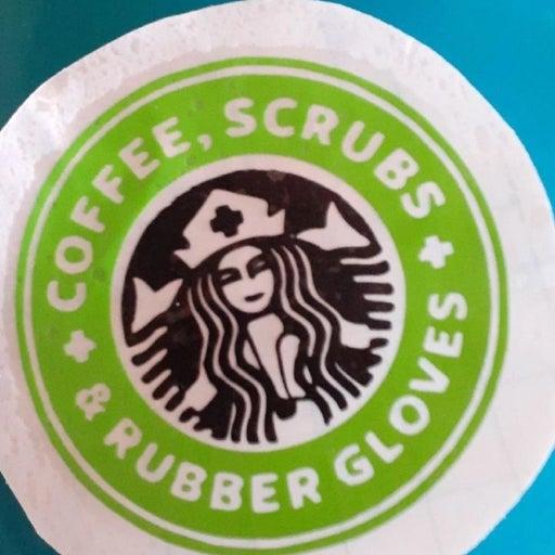 Starbucks nurse vinyl decals