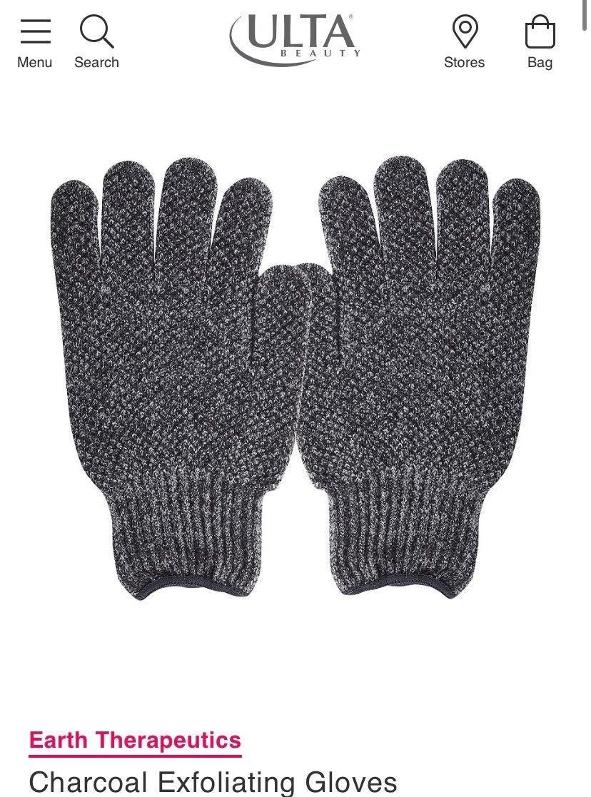 PUREfx Bamboo Charcoal Exfoliating Glove