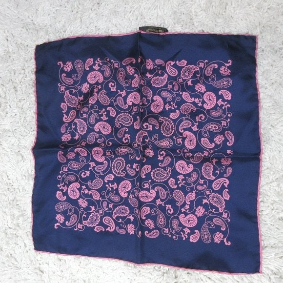 Dion Montreal paisley silk scarf