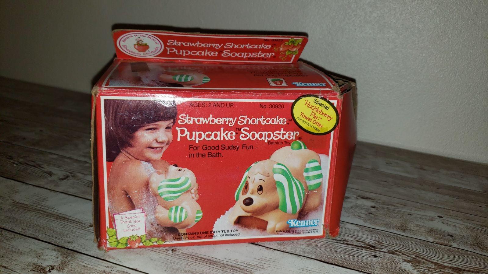 Rare Vintage Strawberry Shortcake Soapst