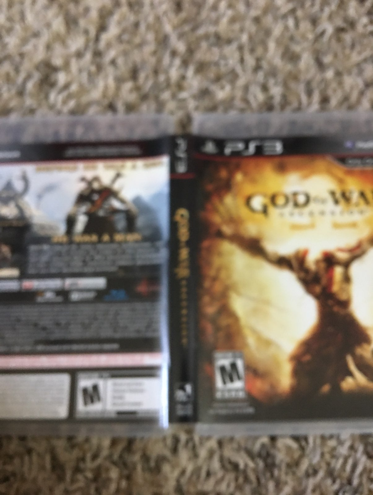 God of War: Ascension on Playstation 3