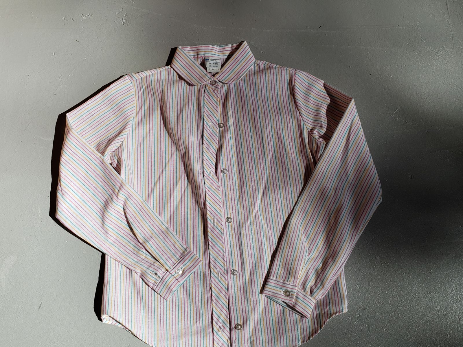 Vintage 1980s JCPENNEY Button Down