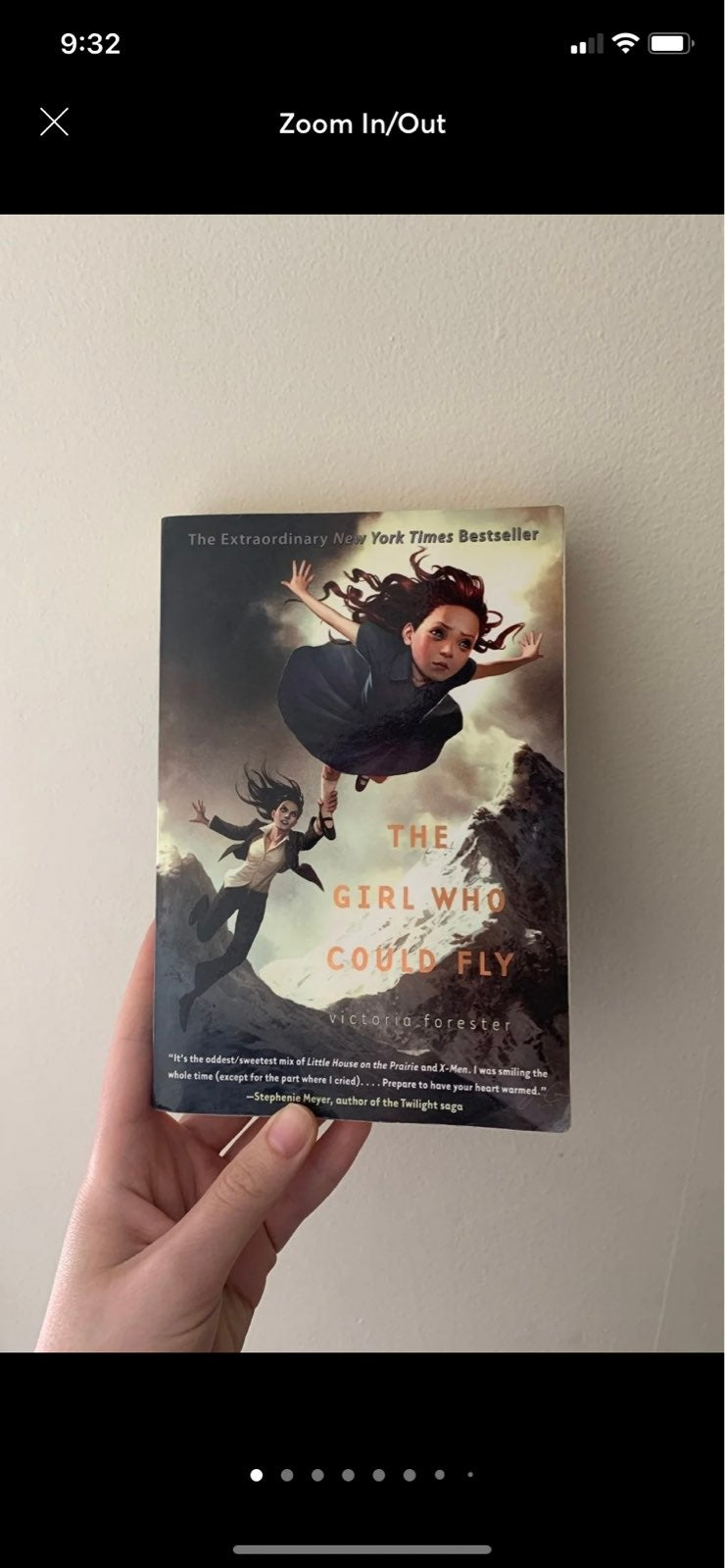 The Girl Who Could Fly Paperback