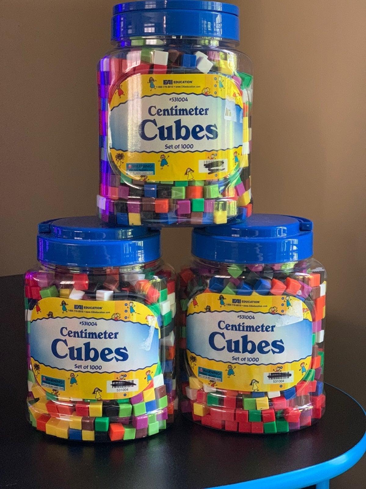 Cenimeter cubes
