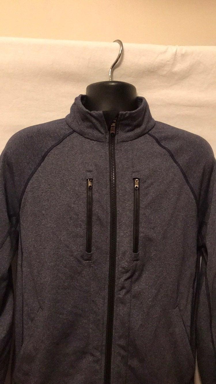 EUC (NWOT?) lululemon Blue/Grey Jacket