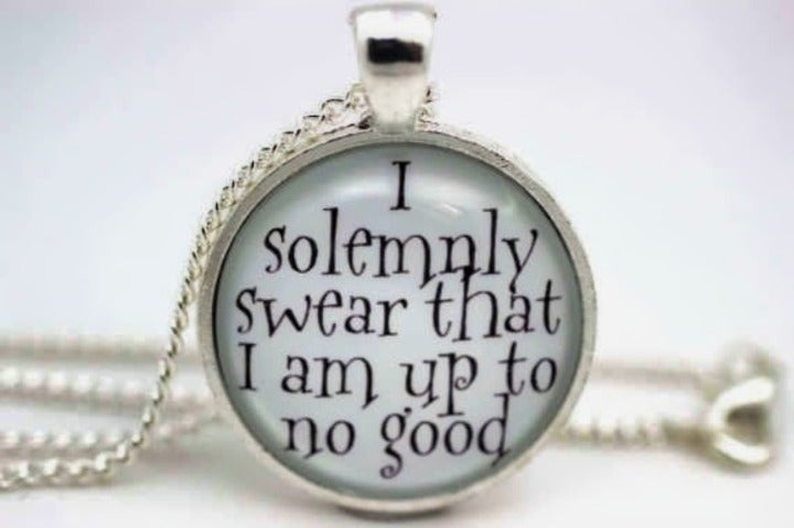 Harry Potter Art Inspired Necklace