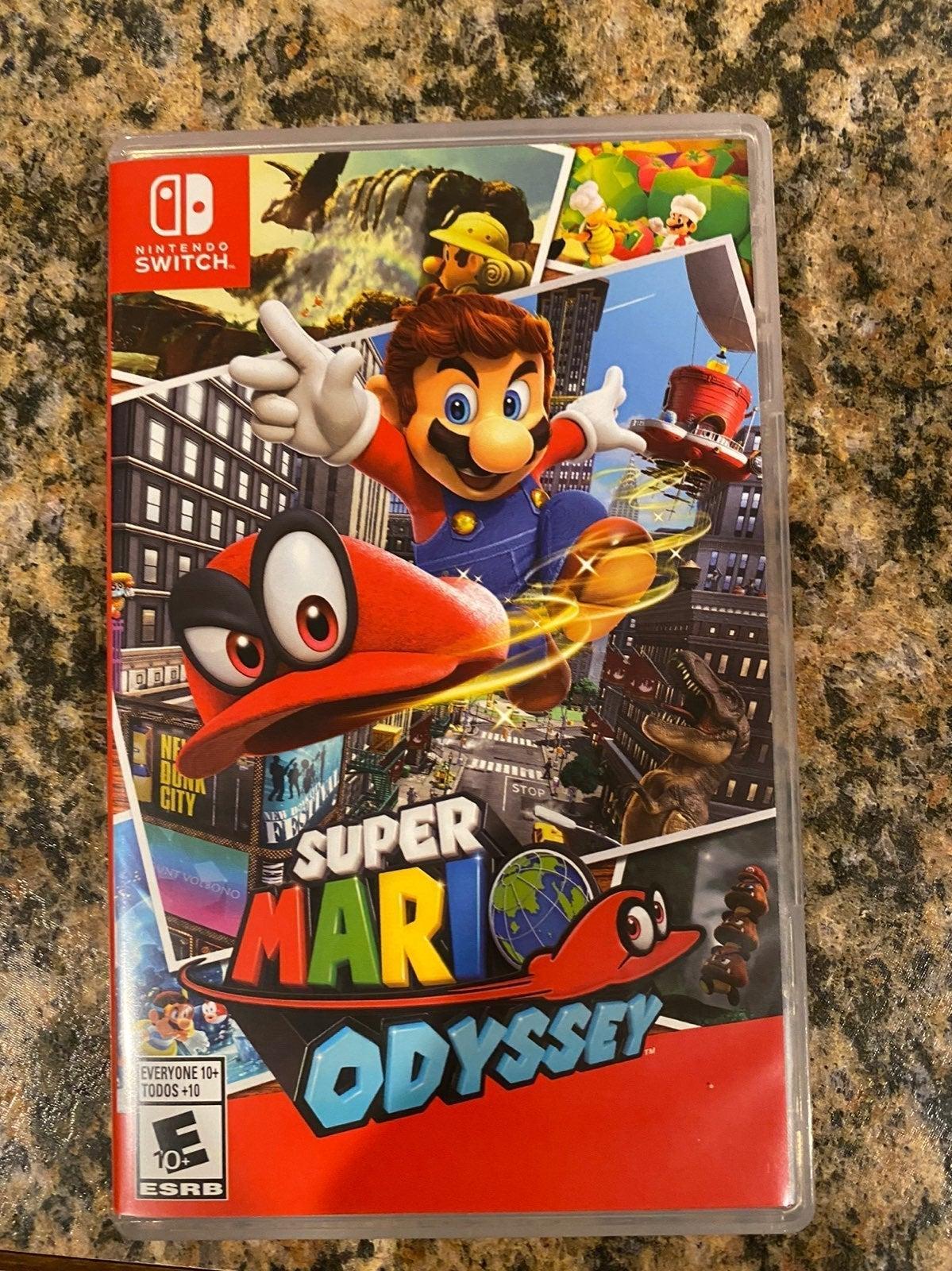 Super Mario Odyssey (CASE ONLY)