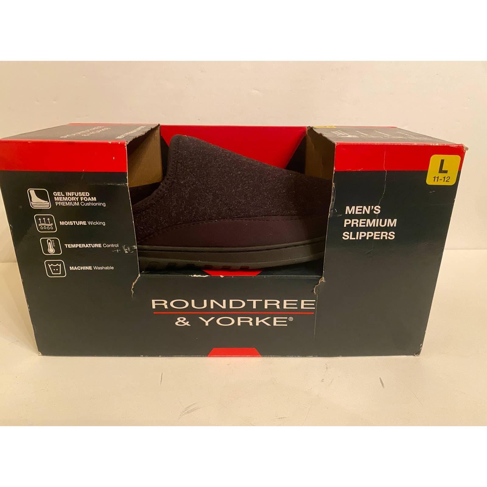RoundTree & yorke Mens Premium Slippers