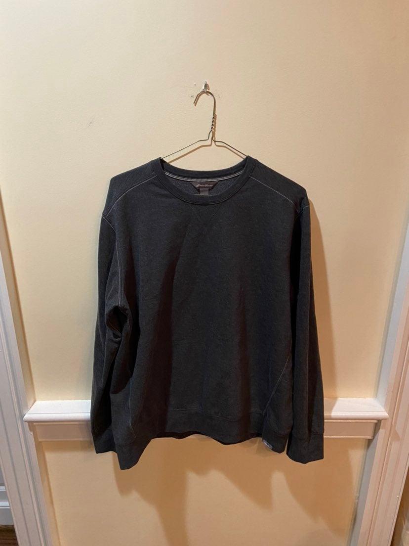 Eddie Bauer Grey Sweatshirt
