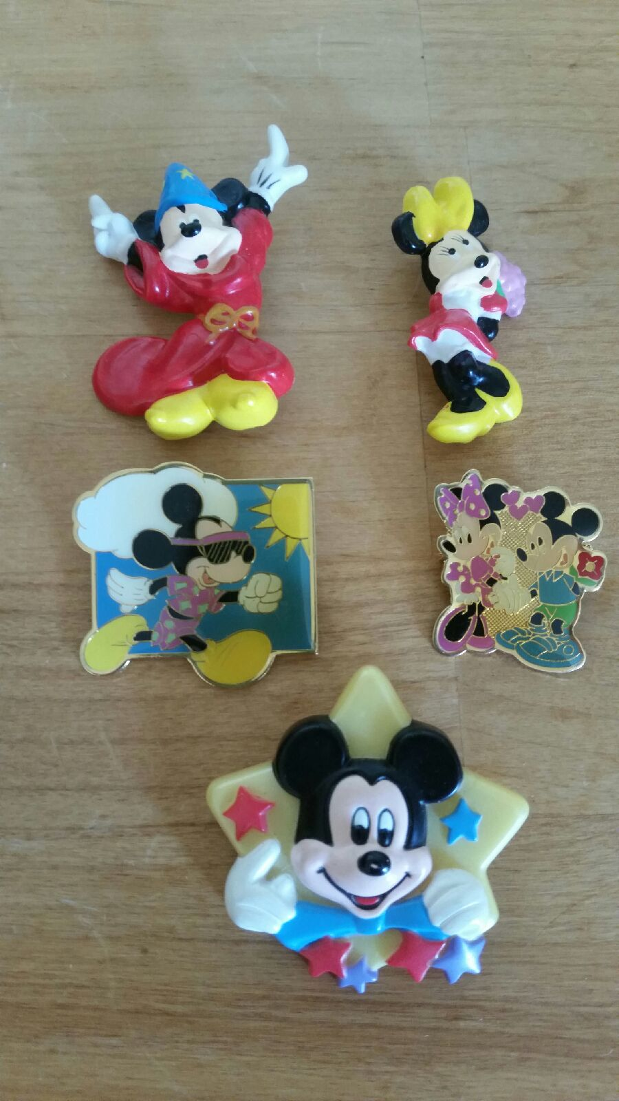 Disney Mickey and Minnie pins
