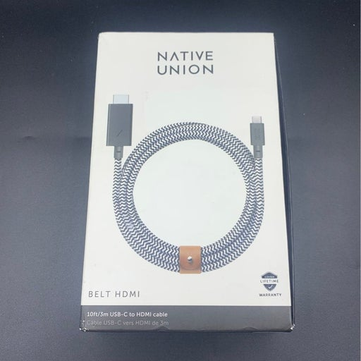 Native Union Belt USB-c to HDMI Cable