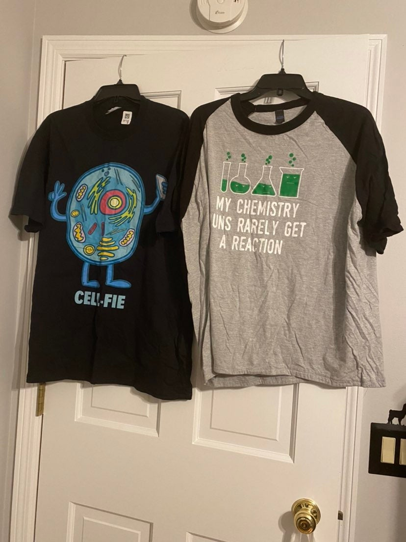 Science Punny Shirts Bundle XL